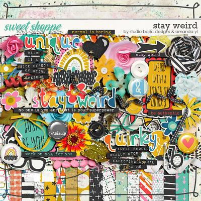 Stay Weird Kit by Amanda Yi & Studio Basic Designs