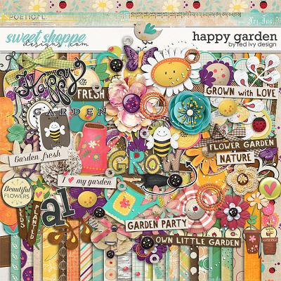 Happy Garden by Red Ivy Design