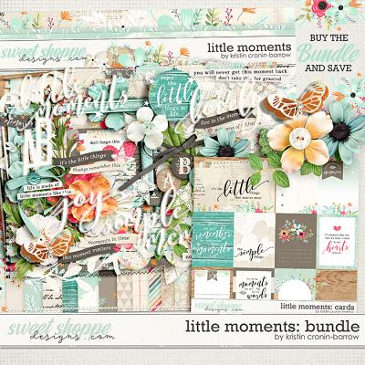 Little Moments: Bundle by Kristin Cronin-Barrow