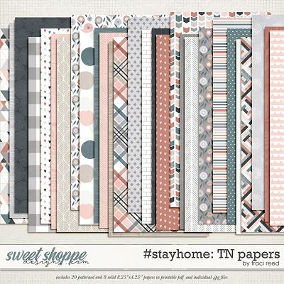 #stayhome TN Papers by Traci Reed