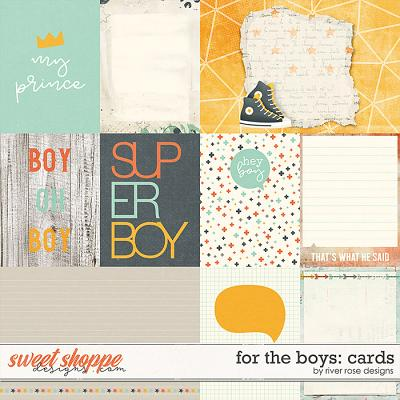 For the Boys: Cards by River Rose Designs