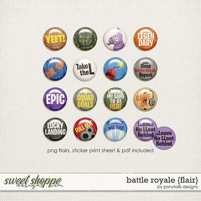Battle Royale Flair by Ponytails