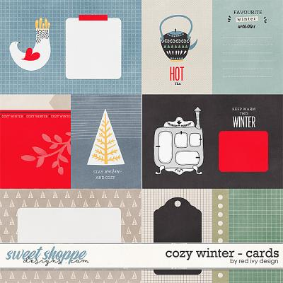 Cozy Winter - Cards by Red Ivy Design