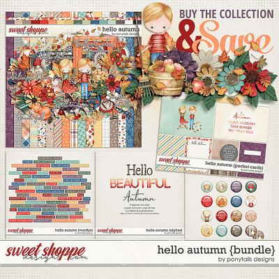 Hello Autumn Bundle by Ponytails