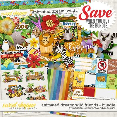 Animated Dream: Wild Friends Bundle by Meagan's Creations and WendyP Designs