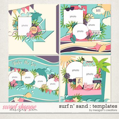 Surf N' Sand : Templates by Meagan's Creations