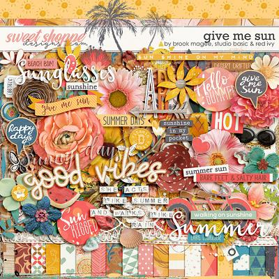 Give Me Sun Kit by Brook Magee, Red Ivy Design & Studio Basic Designs