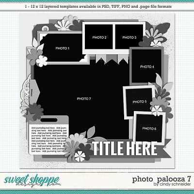 Cindy's Layered Templates - Photo Palooza 7 by Cindy Schneider
