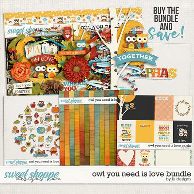 Owl You Need Is Love Bundle by LJS Designs