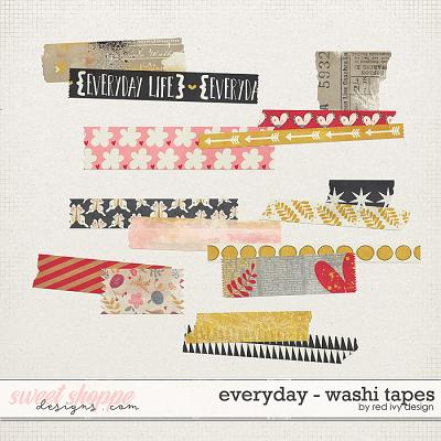 Everyday - Washi Tapes by Red Ivy Design