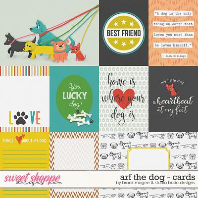 Arf the Dog - Cards by Brook Magee and Studio Basic Designs