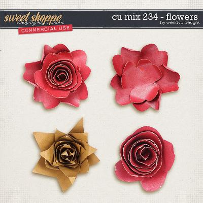 CU Mix 234 - Flowers by WendyP Designs