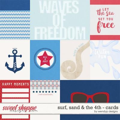 Surf, sand & the 4th - Cards by WendyP Designs