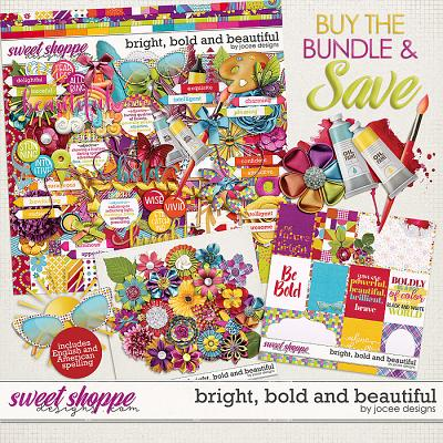 Bright, Bold and Beautiful Bundle by JoCee Designs