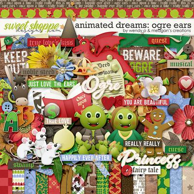 Animated Dreams: Ogre ears by Meagan's Creations & WendyP Designs
