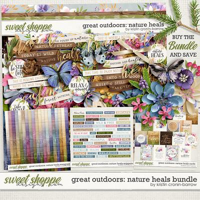 Great Outdoors: Nature Heals Bundle by Kristin Cronin-Barrow