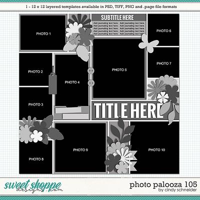 Cindy's Layered Templates - Photo Palooza 105 by Cindy Schneider