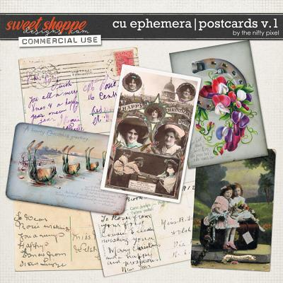 CU EPHEMERA | POSTCARDS V.1 by The Nifty Pixel