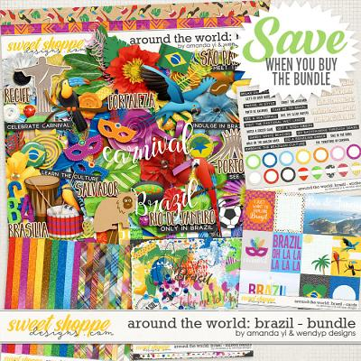 Around the world: Brazil - Bundle by Amanda Yi & WendyP Designs