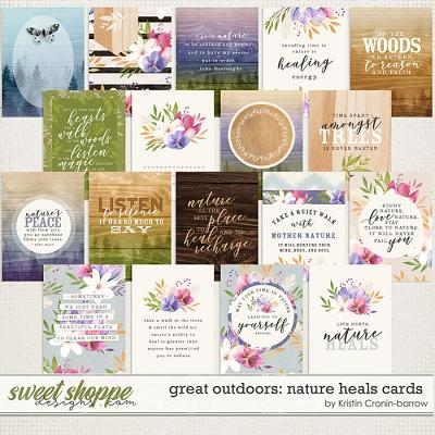 Great Outdoors: Nature Heals Cards by Kristin Cronin-Barrow