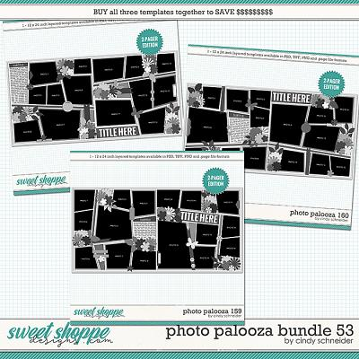 Cindy's Layered Templates - Photo Palooza Bundle 53 by Cindy Schneider