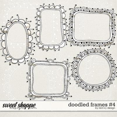 Doodled Frames #4 by Red Ivy Design