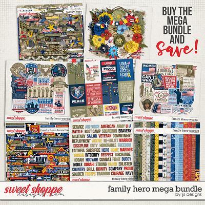 Family Hero Mega Bundle by LJS Designs