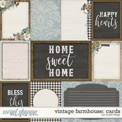 Vintage Farmhouse: CARDS by Studio Flergs