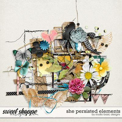 She Persisted Elements by Studio Basic