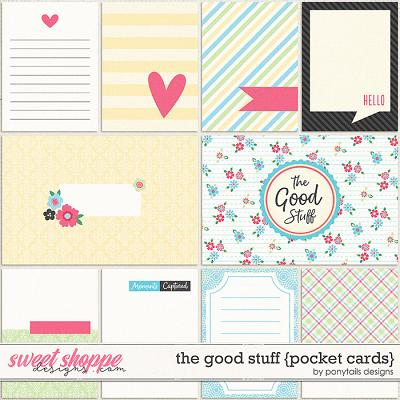 The Good Stuff Pocket Cards by Ponytails