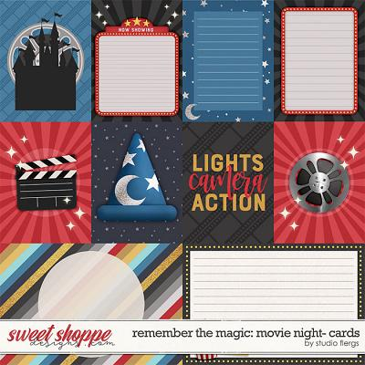 Remember the Magic: MOVIE NIGHT- CARDS by Studio Flergs