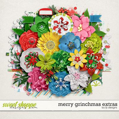 Merry Grinchmas Extras by LJS Designs