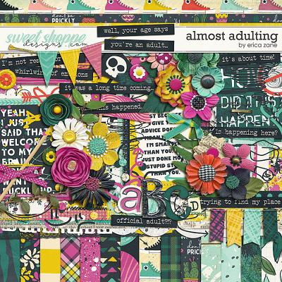 Almost Adulting by Erica Zane