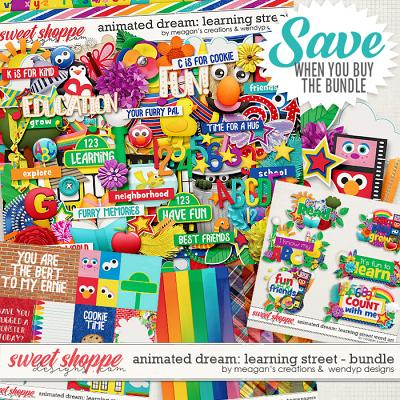 Animated Dream: Learning street - bundle by Meagan's Creations & WendyP Designs
