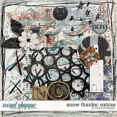 Snow Thanks: Extras by River Rose Designs