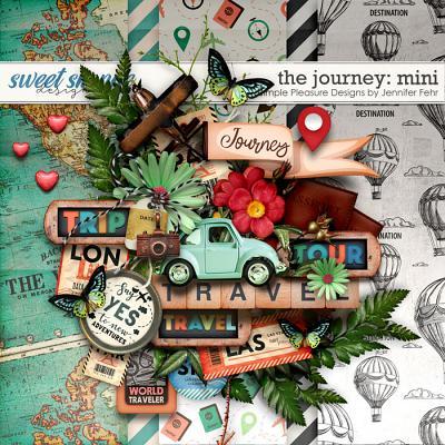 the journey mini: simple pleasure designs by jennifer fehr