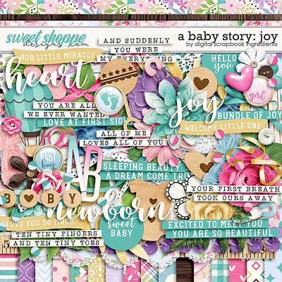 A Baby Story: Joy by Digital Scrapbook Ingredients
