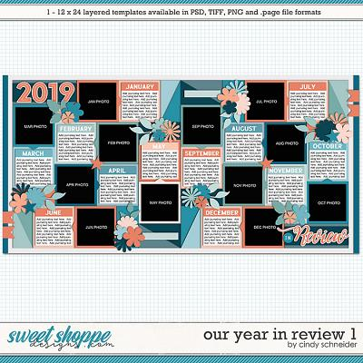 Cindy's Layered Templates - Our Year in Review 1 by Cindy Schneider
