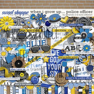 When I Grow Up...Police Officer by Amanda Yi and Laura Wilkerson