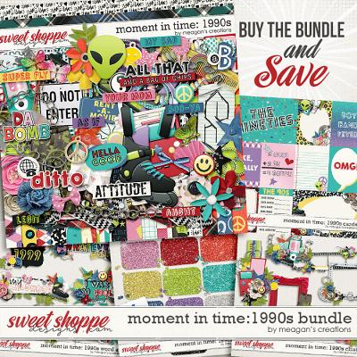 Moment in Time: 1990s Collection Bundle by Meagan's Creations
