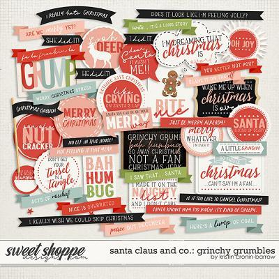 Santa Claus and Co: Grinchy Grumbles by Kristin Cronin-Barrow