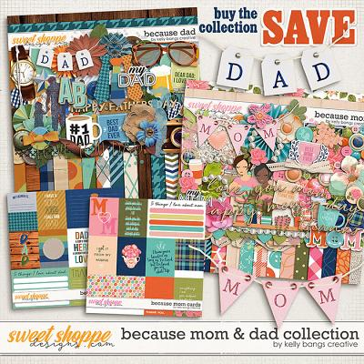 Because Mom & Dad Bundle by Kelly Bangs Creative