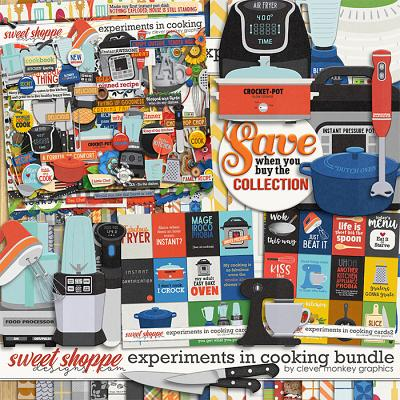 Experiments in Cooking Bundle by Clever Monkey Graphics