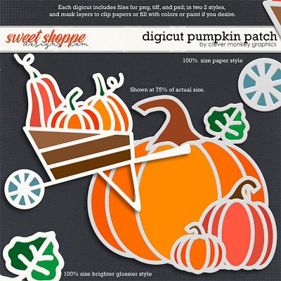 Digicut Pumpkin Patch by Clever Monkey Graphics