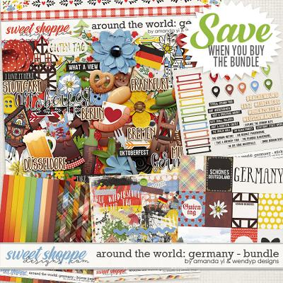 Around the world: Germany - Bundle by Amanda Yi & WendyP Designs