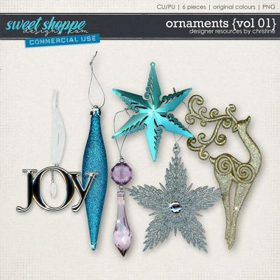 Ornaments {Vol 01} by Christine Mortimer
