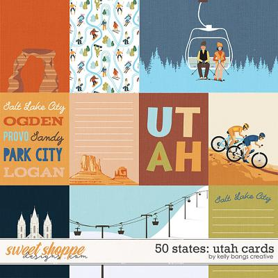 50 states: Utah Cards by Kelly Bangs Creative