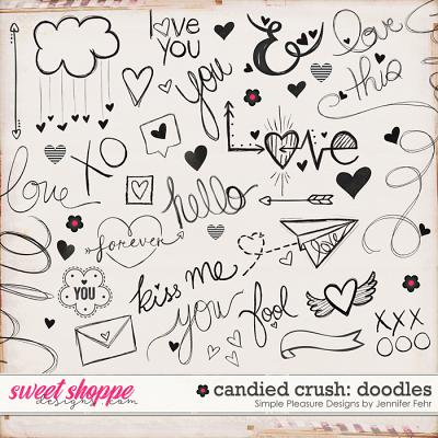 candied crush doodles: Simple Pleasure Design by Jennifer Fehr