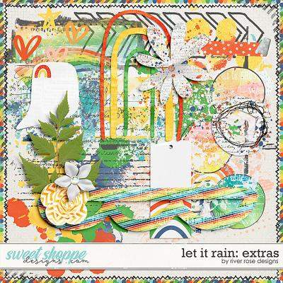 Let it Rain: Extras by River Rose Designs