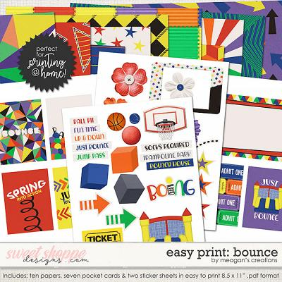 Easy Print : Bounce by Meagan's Creations